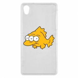 Чехол для Sony Xperia Z2 Simpsons three eyed fish - FatLine