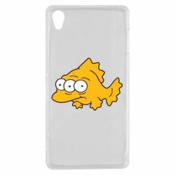 Чехол для Sony Xperia Z3 Simpsons three eyed fish - FatLine