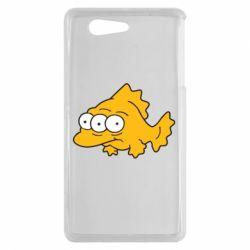 Чехол для Sony Xperia Z3 mini Simpsons three eyed fish - FatLine
