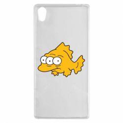 Чехол для Sony Xperia Z5 Simpsons three eyed fish - FatLine