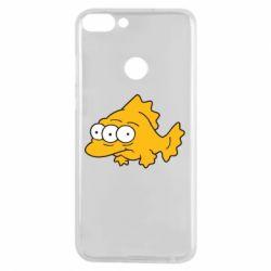 Чехол для Huawei P Smart Simpsons three eyed fish - FatLine