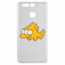 Чехол для Huawei P9 Simpsons three eyed fish - FatLine
