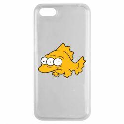 Чехол для Huawei Y5 2018 Simpsons three eyed fish - FatLine