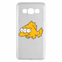 Чехол для Samsung A3 2015 Simpsons three eyed fish - FatLine