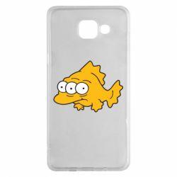 Чехол для Samsung A5 2016 Simpsons three eyed fish