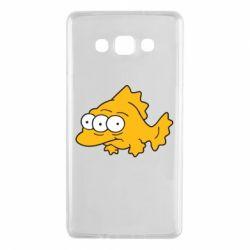 Чехол для Samsung A7 2015 Simpsons three eyed fish - FatLine