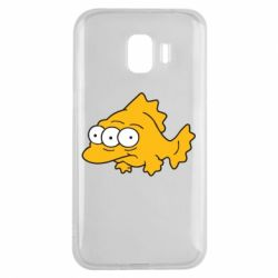 Чехол для Samsung J2 2018 Simpsons three eyed fish