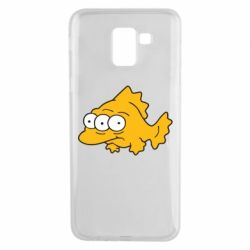 Чехол для Samsung J6 Simpsons three eyed fish