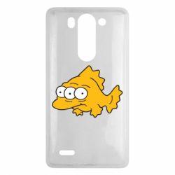 Чехол для LG G3 mini/G3s Simpsons three eyed fish - FatLine