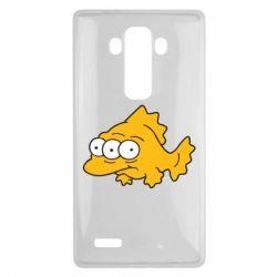 Чехол для LG G4 Simpsons three eyed fish - FatLine