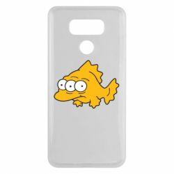 Чехол для LG G6 Simpsons three eyed fish - FatLine