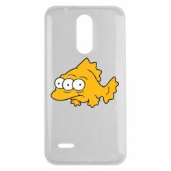 Чехол для LG K7 2017 Simpsons three eyed fish - FatLine