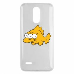 Чехол для LG K8 2017 Simpsons three eyed fish - FatLine