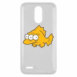 Чехол для LG K10 2017 Simpsons three eyed fish - FatLine