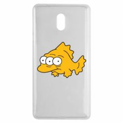 Чехол для Nokia 3 Simpsons three eyed fish - FatLine