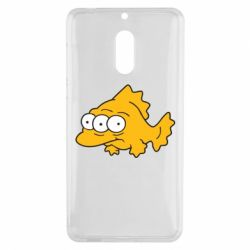 Чехол для Nokia 6 Simpsons three eyed fish - FatLine