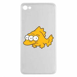 Чехол для Meizu U20 Simpsons three eyed fish - FatLine
