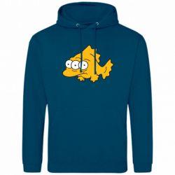 Мужская толстовка Simpsons three eyed fish - FatLine
