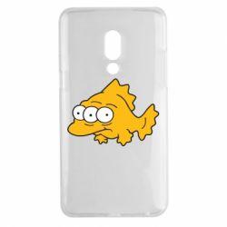 Чехол для Meizu 15 Plus Simpsons three eyed fish - FatLine