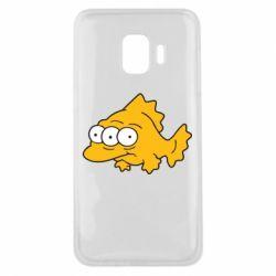 Чехол для Samsung J2 Core Simpsons three eyed fish - FatLine