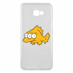 Чехол для Samsung J4 Plus 2018 Simpsons three eyed fish