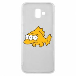 Чехол для Samsung J6 Plus 2018 Simpsons three eyed fish - FatLine