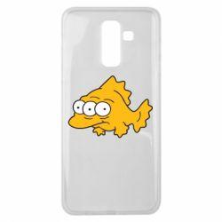 Чехол для Samsung J8 2018 Simpsons three eyed fish