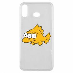 Чехол для Samsung A6s Simpsons three eyed fish