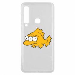 Чехол для Samsung A9 2018 Simpsons three eyed fish - FatLine