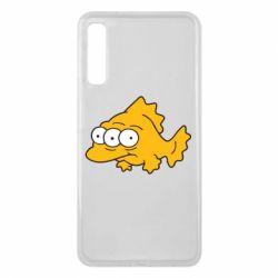 Чехол для Samsung A7 2018 Simpsons three eyed fish - FatLine