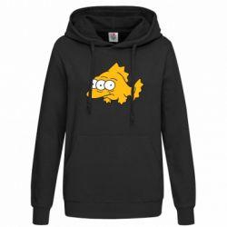 Женская толстовка Simpsons three eyed fish - FatLine