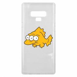 Чехол для Samsung Note 9 Simpsons three eyed fish