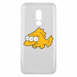 Чехол для Meizu 16 Simpsons three eyed fish - FatLine