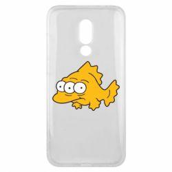 Чехол для Meizu 16x Simpsons three eyed fish - FatLine