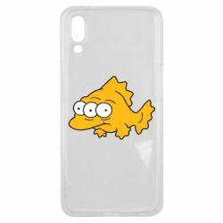 Чехол для Meizu E3 Simpsons three eyed fish - FatLine
