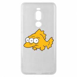 Чехол для Meizu Note 8 Simpsons three eyed fish - FatLine
