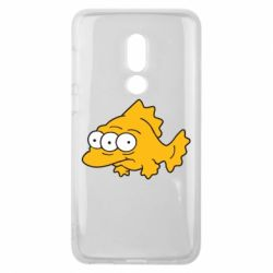 Чехол для Meizu V8 Simpsons three eyed fish - FatLine
