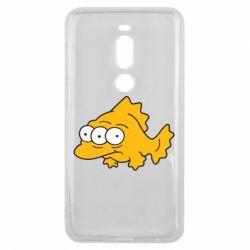 Чехол для Meizu V8 Pro Simpsons three eyed fish - FatLine