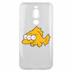 Чехол для Meizu X8 Simpsons three eyed fish - FatLine