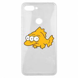 Чехол для Xiaomi Mi8 Lite Simpsons three eyed fish - FatLine