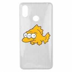 Чехол для Xiaomi Mi Max 3 Simpsons three eyed fish - FatLine