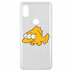 Чехол для Xiaomi Mi Mix 3 Simpsons three eyed fish - FatLine