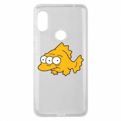Чехол для Xiaomi Redmi Note 6 Pro Simpsons three eyed fish - FatLine