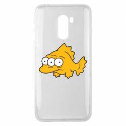 Чехол для Xiaomi Pocophone F1 Simpsons three eyed fish - FatLine