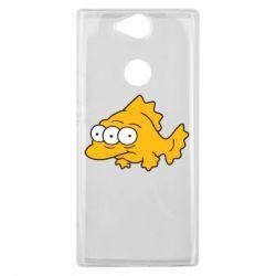 Чехол для Sony Xperia XA2 Plus Simpsons three eyed fish - FatLine