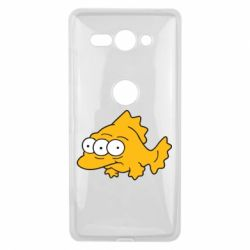 Чехол для Sony Xperia XZ2 Compact Simpsons three eyed fish - FatLine
