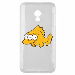 Чехол для Meizu 15 Lite Simpsons three eyed fish - FatLine