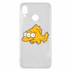 Чехол для Huawei P Smart Plus Simpsons three eyed fish - FatLine