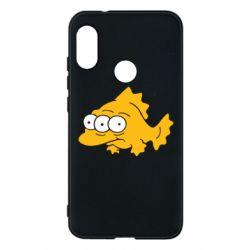 Чехол для Mi A2 Lite Simpsons three eyed fish - FatLine