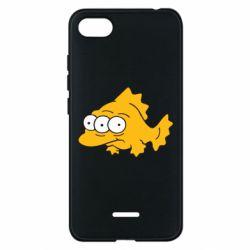 Чехол для Xiaomi Redmi 6A Simpsons three eyed fish - FatLine